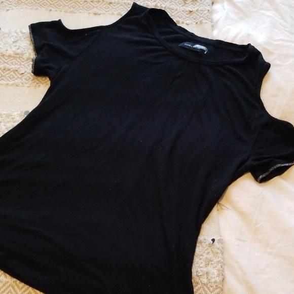 Ivanka Trump Tops - Ivanka Trump Cold Shoulder Shirt Size L